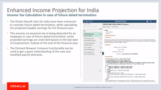 Enhanced Income Projection for India.