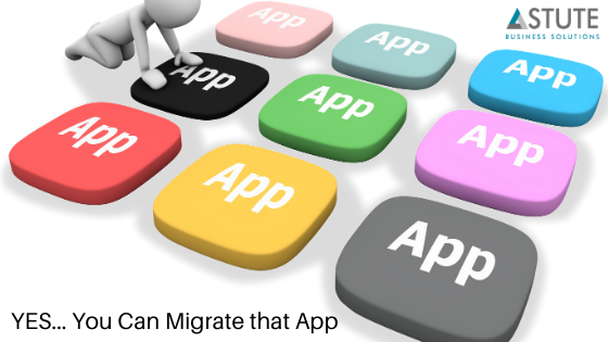 YES... You can migrate that APP